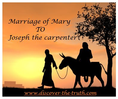 Marriage of Joseph the Carpenter and Mary Mother of Jesus