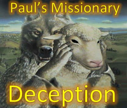 Paul's missionary deception