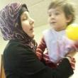 Alavijeh's wife and daughter Hannah Rosemary Fatimah Alavijeh