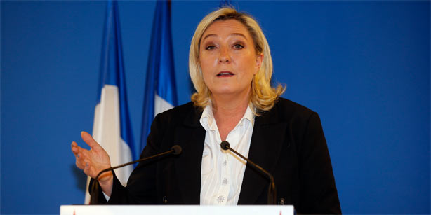 Marine Le Pen, a French politician and the president of the Front National (FN), notorious for her virulently Islamophobic rhetoric. (Photo: Reuters)