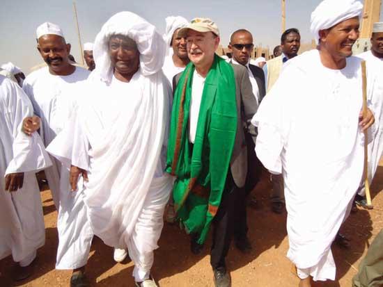 Joseph Stanfford in Sudan