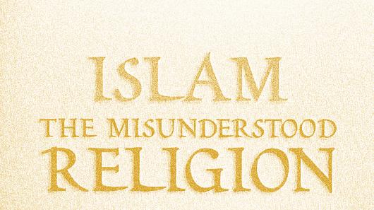 Islam misunderstood religion