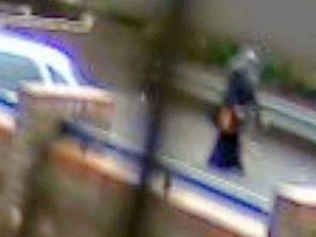 CCTV footage showing Almanea before she got stabbed to death