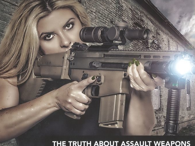Michele Fiore featured posing in gun loving calendar she created Attribution Michele Fiore