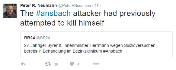 Twitter: Peter R. Neumann