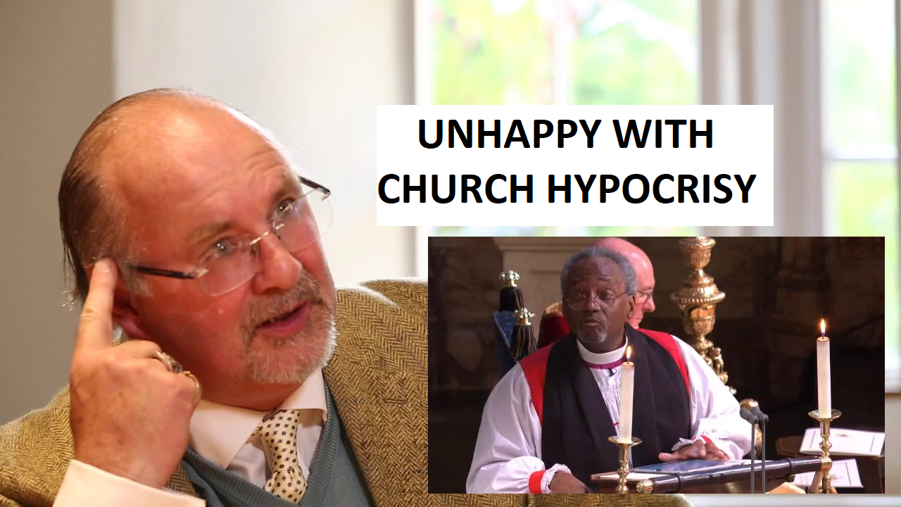 Thoughts on Gavin Ashenden's Critique Over Michael Curry Royal Wedding Invitation To Preach