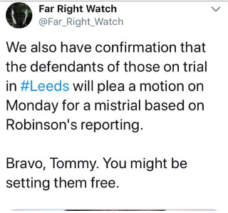 Tommy Robinson Gavin Ashenden
